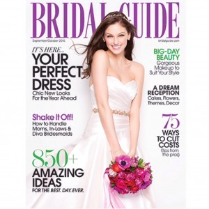 Prudence Bridal Guide cover Sept Oct 2015