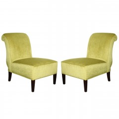 Pair of Elegant Mid Century Side Chairs c.1950